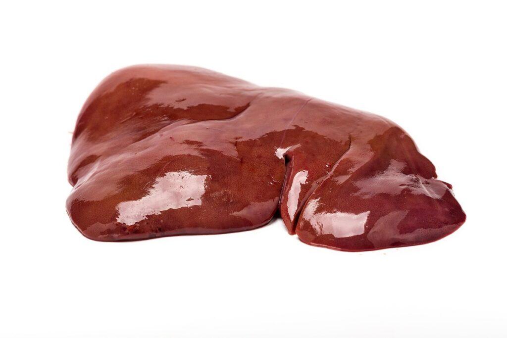 Alimentos con mas vitamina B12, Higado de cordero