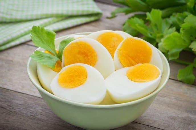 Alimentos que contienen Vitamina B12, Huevos