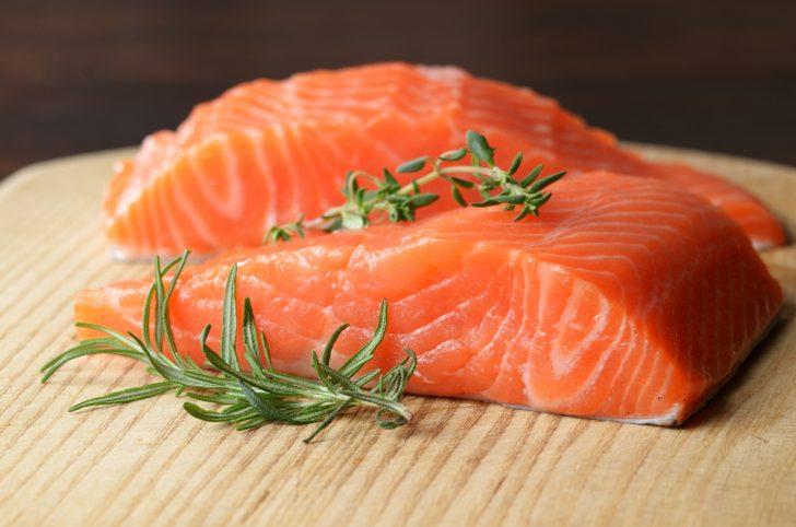 Alimentos que contienen Cobalamina, Salmon silvestre