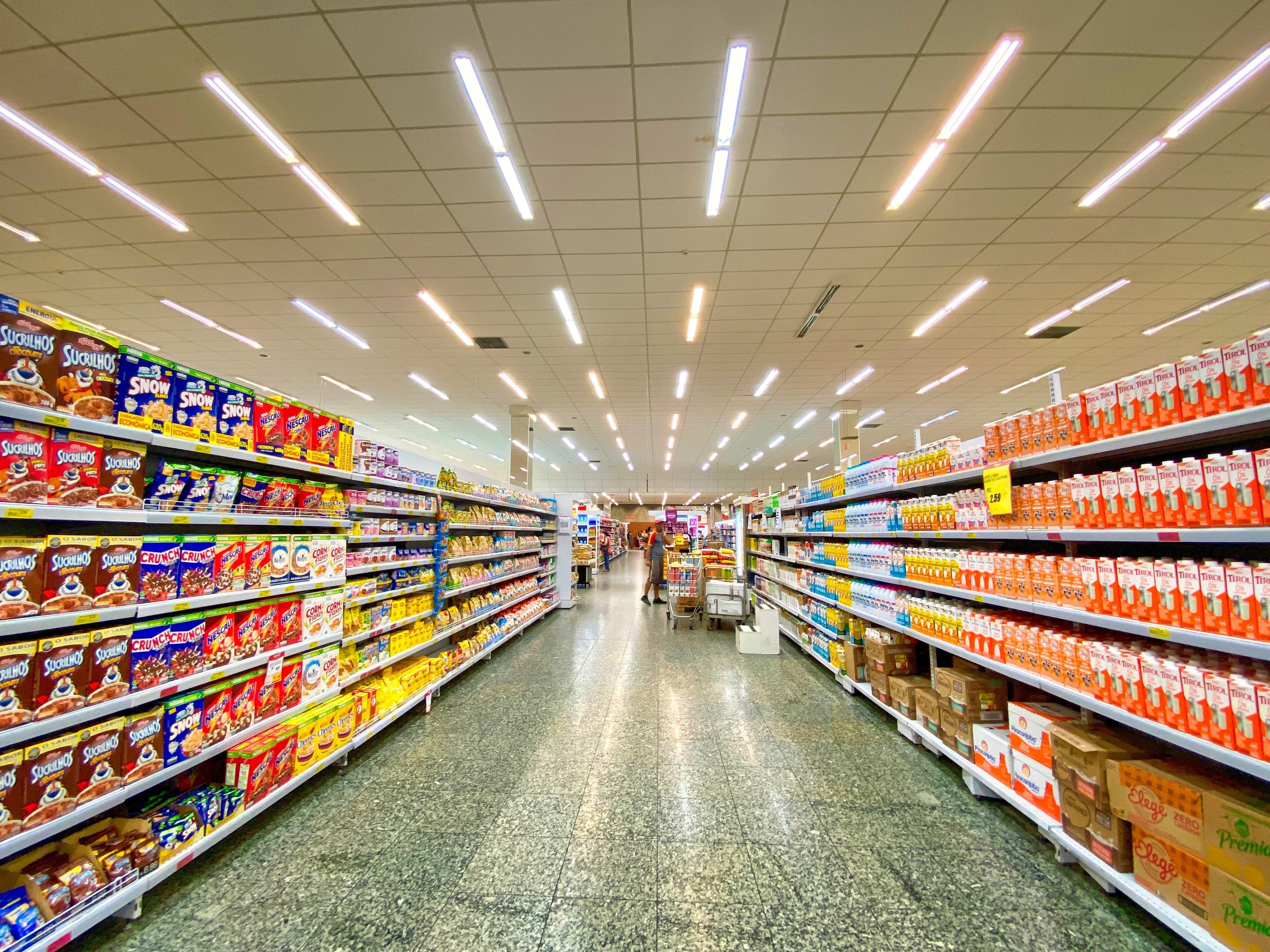 Desengáñate: la mayor parte de los productos que hay en el super NO son alimentos