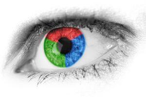 ojo daltonismo