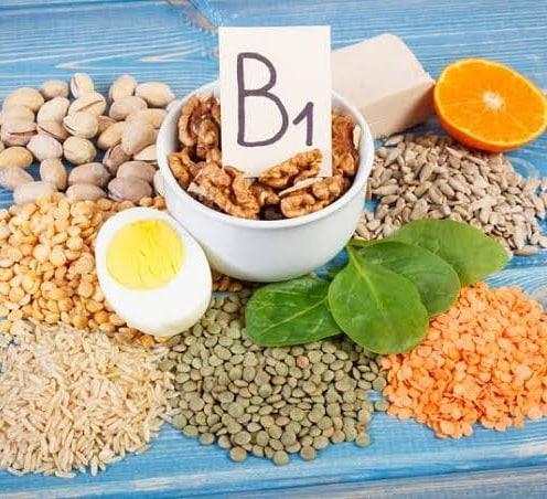 Alimentos ricos en Vitamina B1.