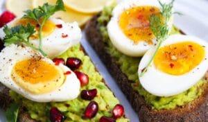 Desayuno proteico saludable