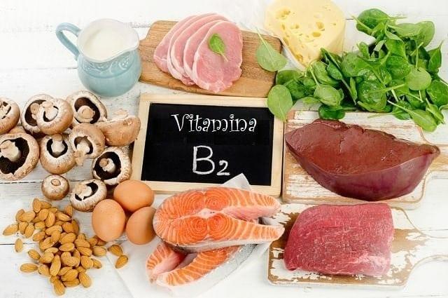 Vitamina B2 (Riboflavina) ¡Que es y en que alimentos encontrarla!