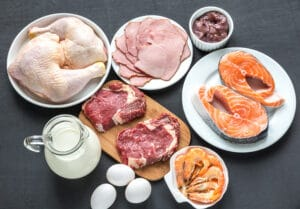 variedad de carne animal