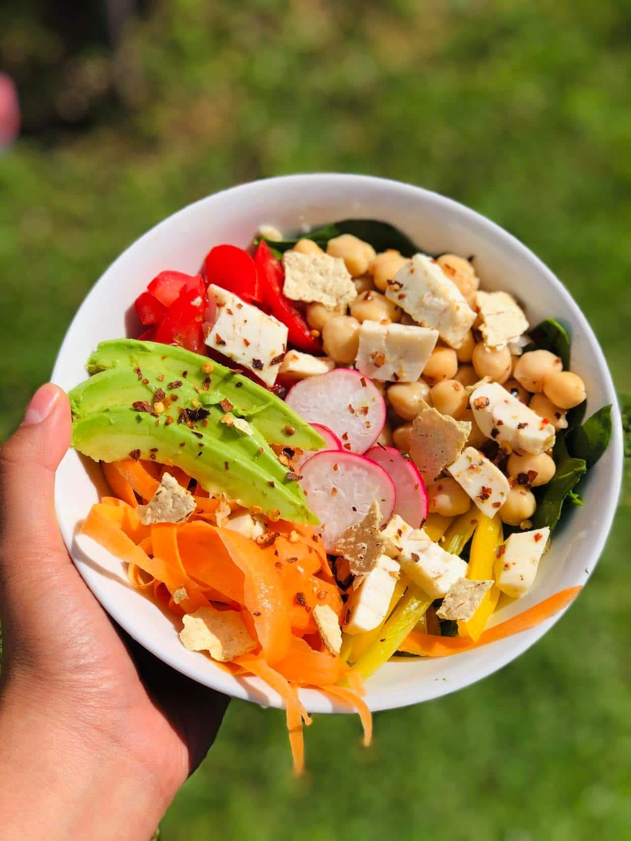 Receta saludable para comer_ensalada