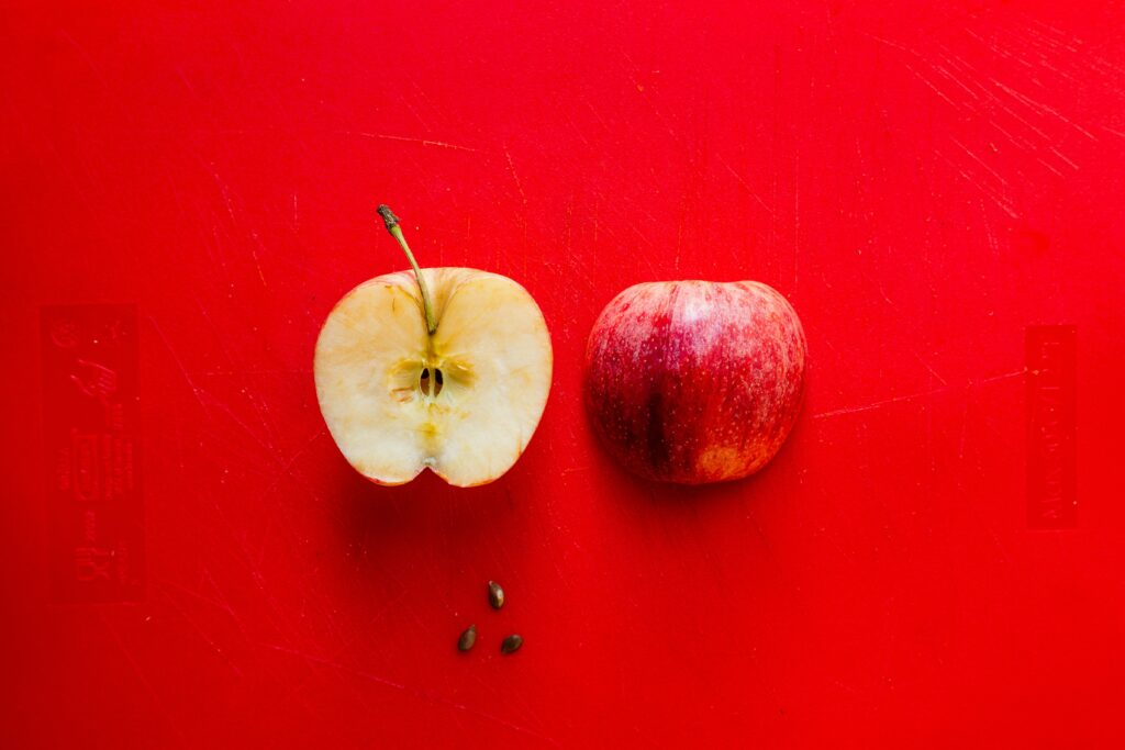 Batido de manzana con canela para tener energía.
