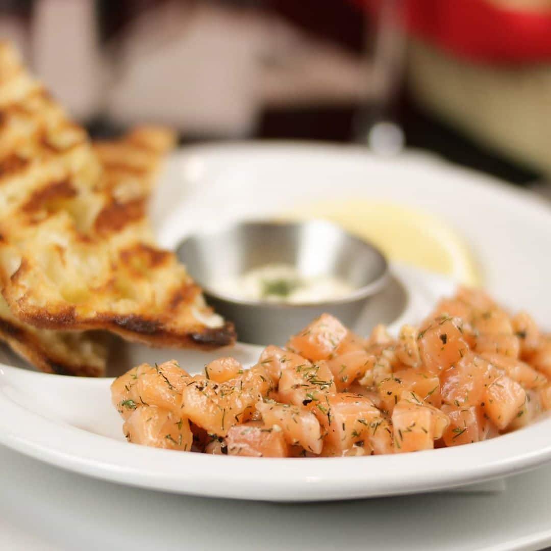 Tartar de salmón básico
