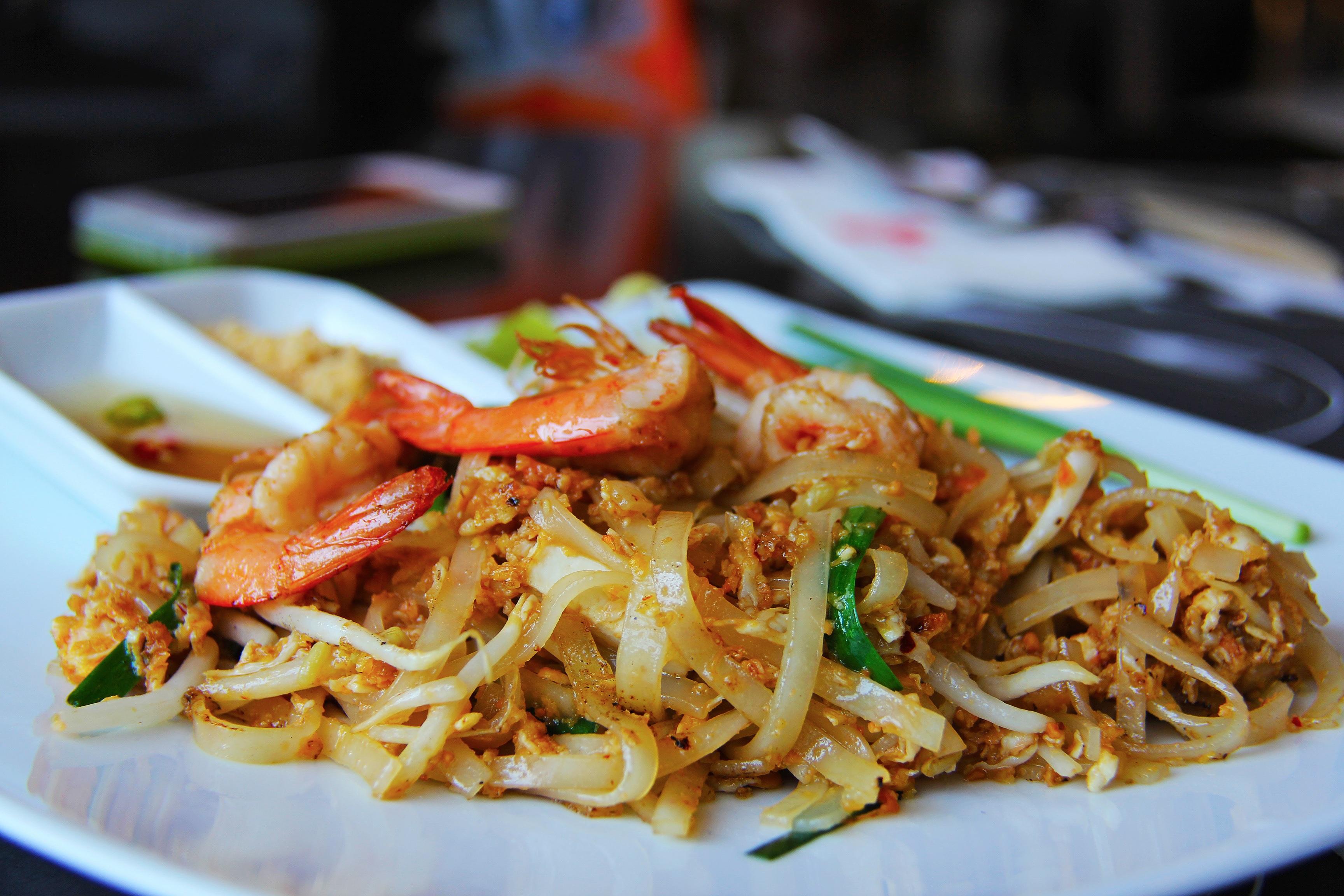 Thai con gambas