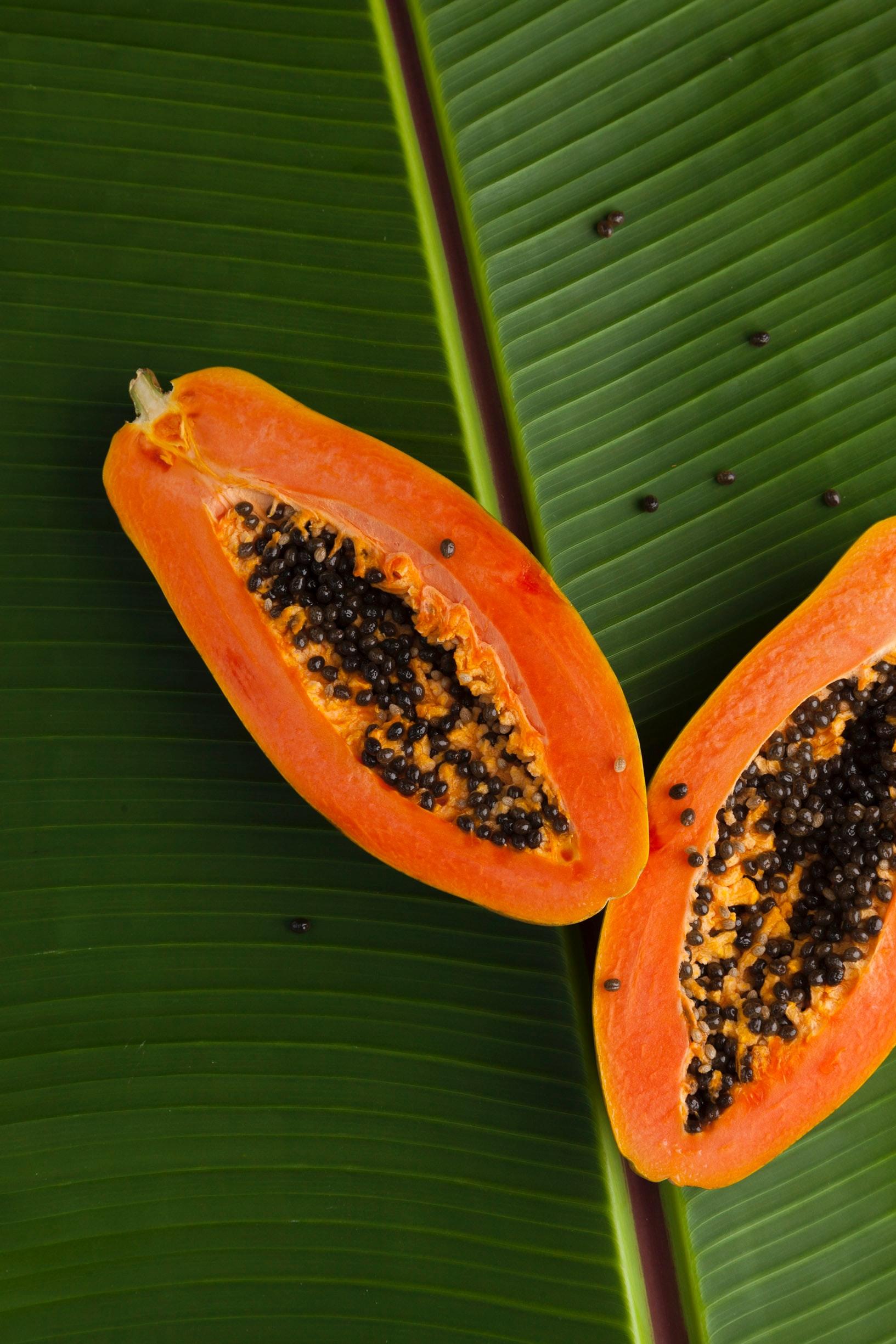 Papaya, una de tantas frutas